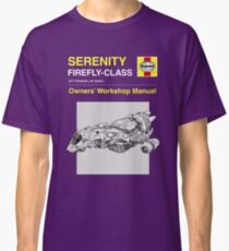 Serenity - Owners' Manual Classic T-Shirt