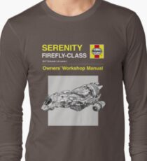 Serenity - Owners' Manual Long Sleeve T-Shirt