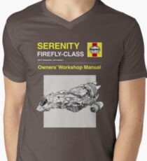 Serenity - Owners' Manual Men's V-Neck T-Shirt