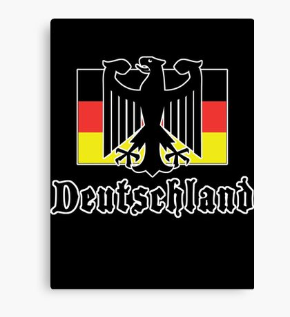 "Germany ""Deutschland"" T-Shirt Canvas Print"