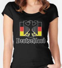 "Germany ""Deutschland"" T-Shirt Women's Fitted Scoop T-Shirt"