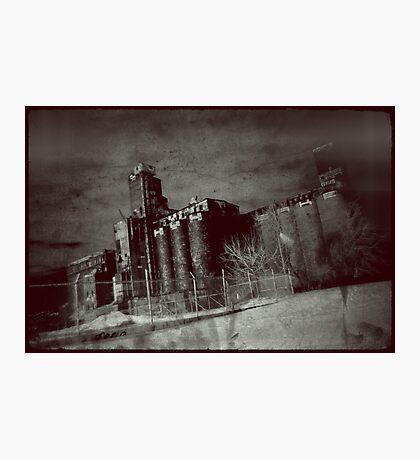Abandoned Malt Plant Photographic Print