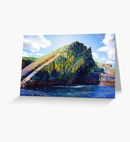 Big Rock Candy Mountain Greeting Card