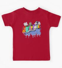 This City is Industrious.  Kids Tee