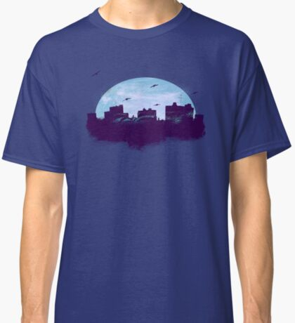 Twilight City Skyline  Classic T-Shirt