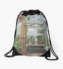 Through the Greenhouse Drawstring Bag