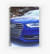 Nogaro Blue Audi S4 Spiral Notebook