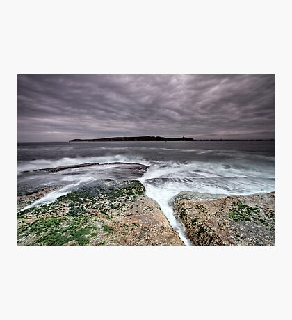 Splitting Rocks Photographic Print
