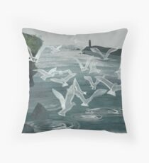 Witch of Pitteweem Throw Pillow