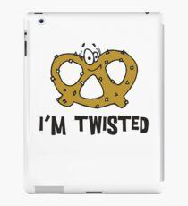 Pretzel I'm Twisted iPad Case/Skin