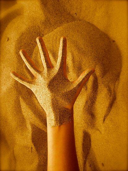 Sandy Hand by Ciarra Ornelas