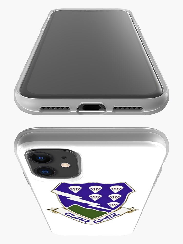 Alternate view of Currahee - 506th Infantry - 101st Airborne  iPhone Case & Cover