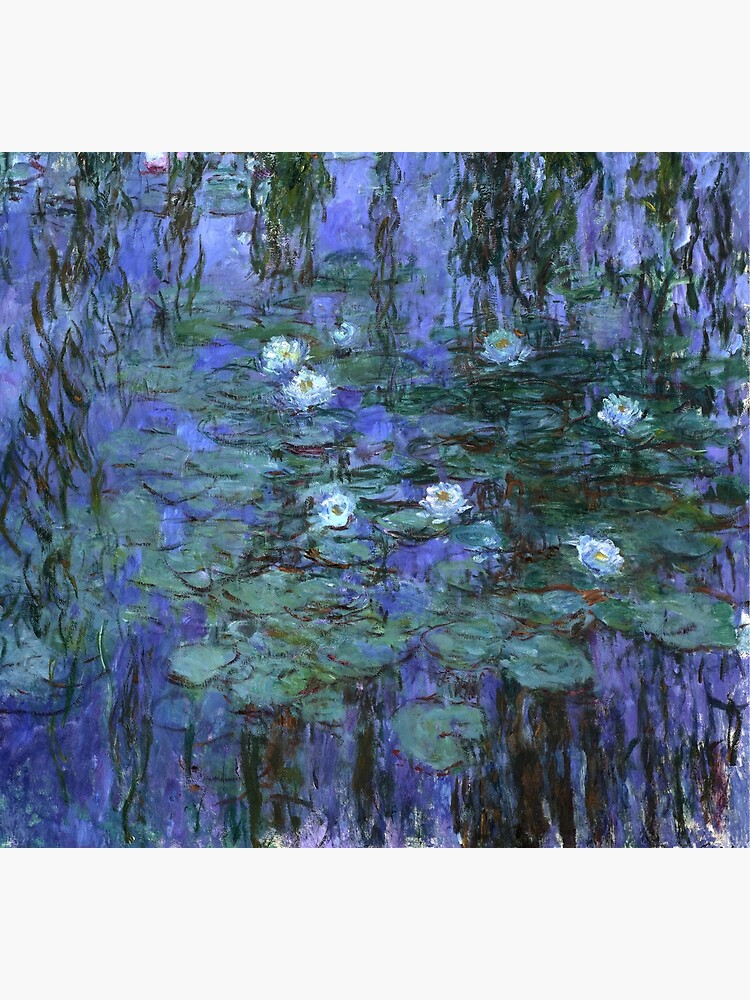 Blue Water Lilies, Claude Monet by fourretout