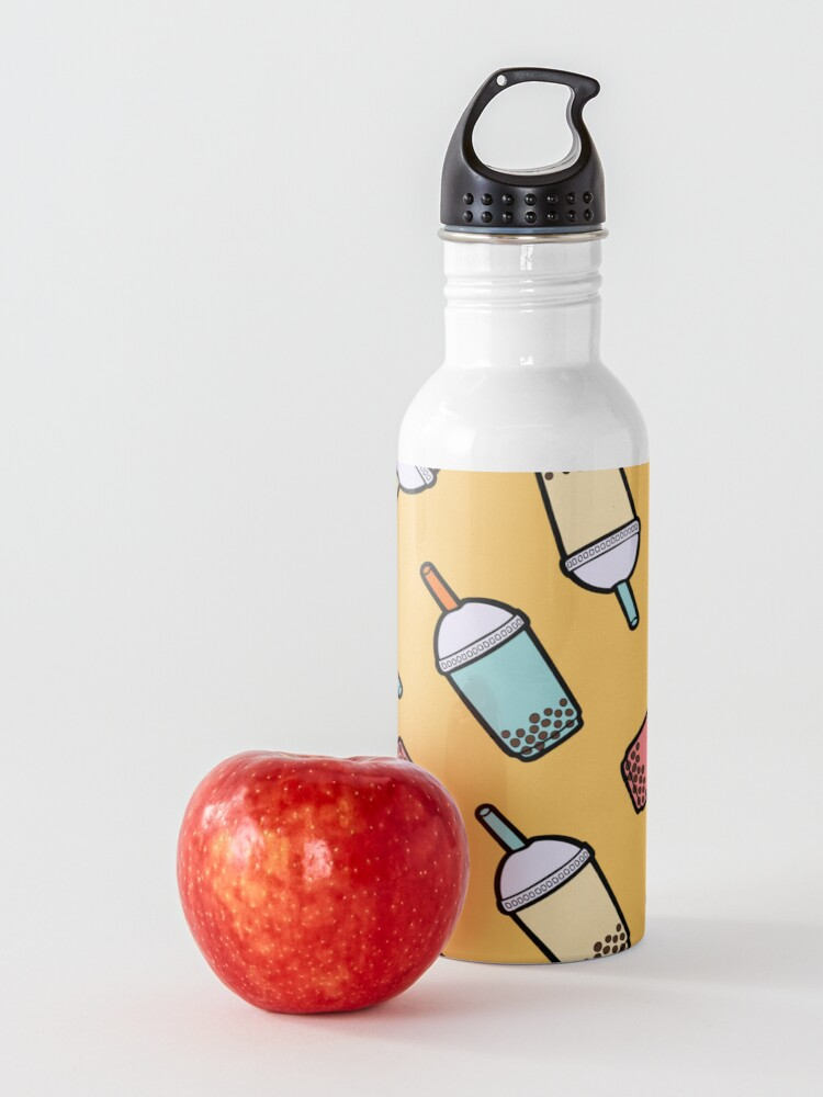 Alternate view of Bubble Tea Pattern Water Bottle