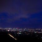 Blue Hour over Brisbane by Peter Doré