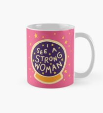 I see a strong woman Classic Mug