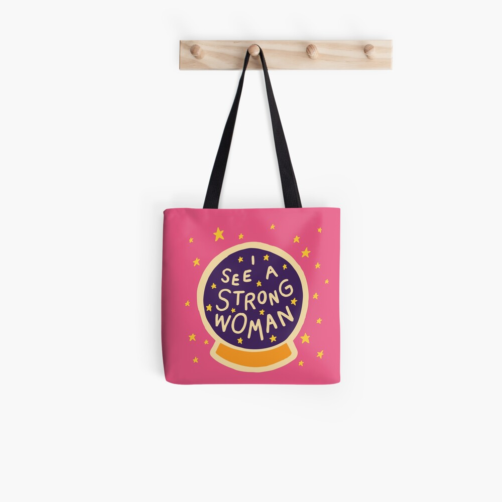 I see a strong woman Tote Bag
