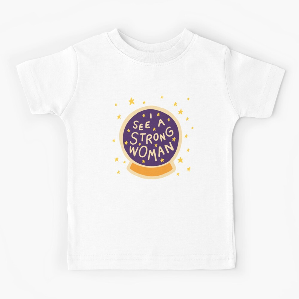 I see a strong woman Kids T-Shirt