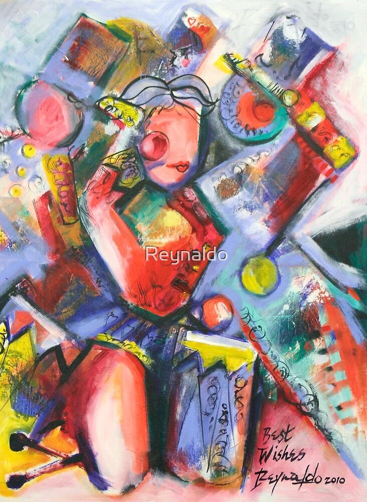 Toys In The Attic by Reynaldo