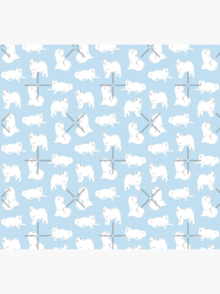 Samoyed Print by doodlebymeg