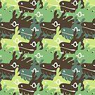 Green dragocamo by psychonautic