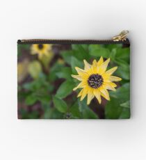Yellow Flowers in Georgia Zipper Pouch