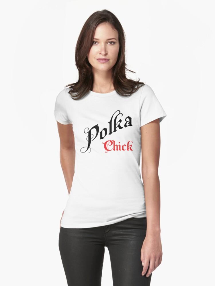 """Polka """"Polka Chick"""" by HolidayT-Shirts"""
