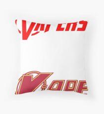 vapor sticker 2 pack Throw Pillow