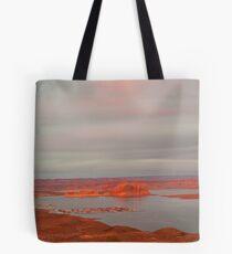 Wahweap Marina, Page Arizona Tote Bag