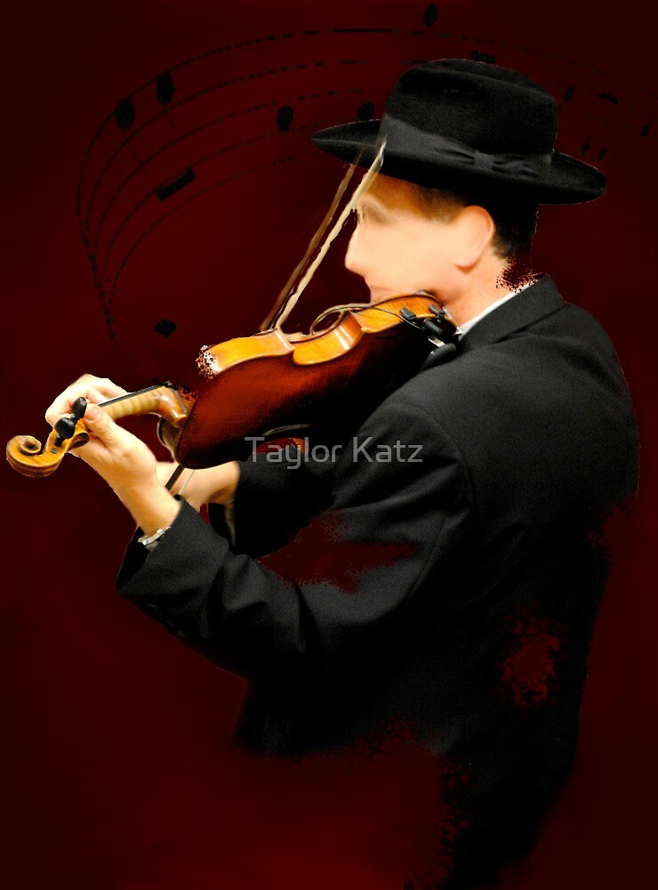 The Lonely Violinist by Taylor Katz