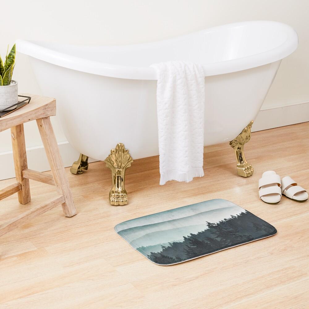 Mountain Light Bath Mat