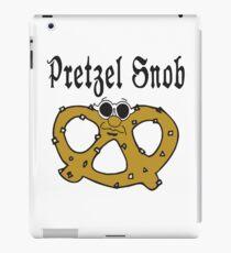 """Funny Pretzel """"Pretzel Snob"""" Pretzels iPad Case/Skin"""