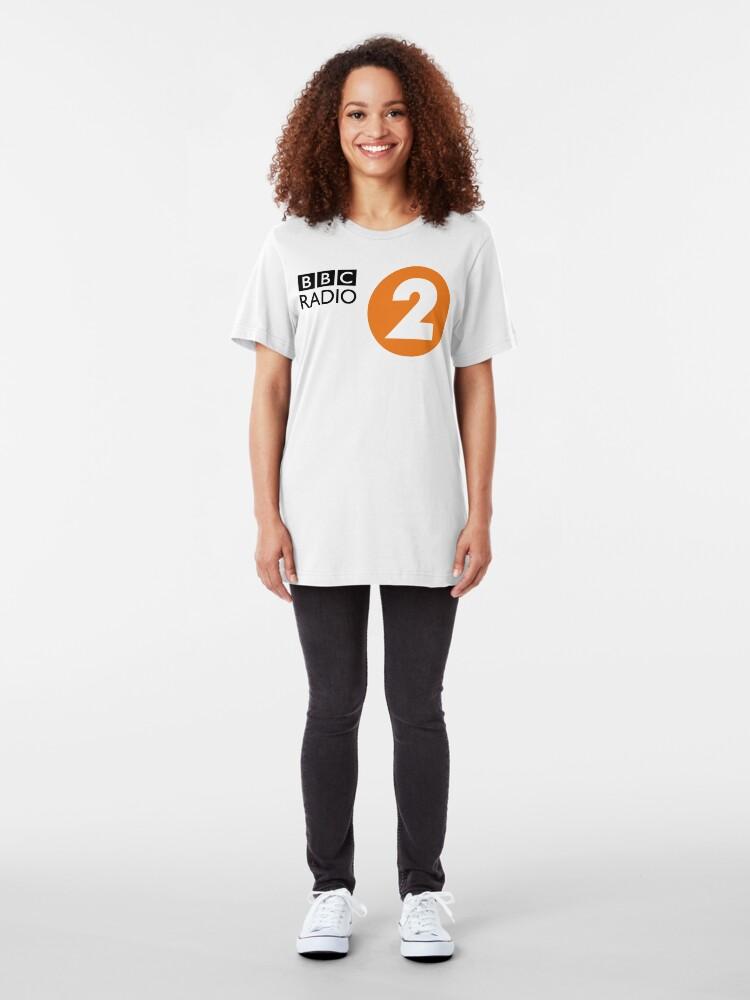 Alternate view of NDVH Radio 2 2007 Slim Fit T-Shirt