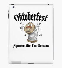 "Oktoberfest ""Squeeze Me I'm German"" iPad Case/Skin"