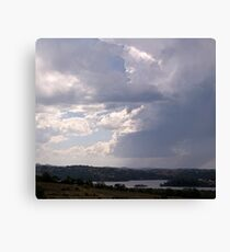Storm over Terranora Broadwater Canvas Print