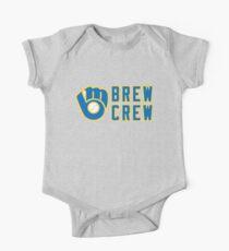 Milwaukee Brewers Brew Crew One Piece - Short Sleeve