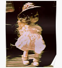 doll heart Poster