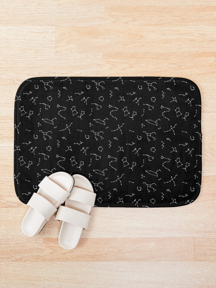 Alternate view of Constellations Bath Mat
