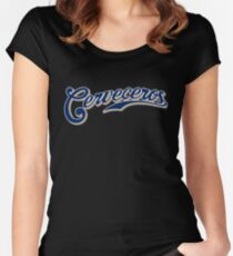 Milwaukee Brewers Cerveceros Women's Fitted Scoop T-Shirt