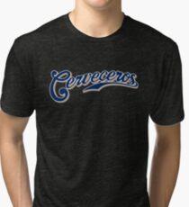 Milwaukee Brewers Cerveceros Tri-blend T-Shirt