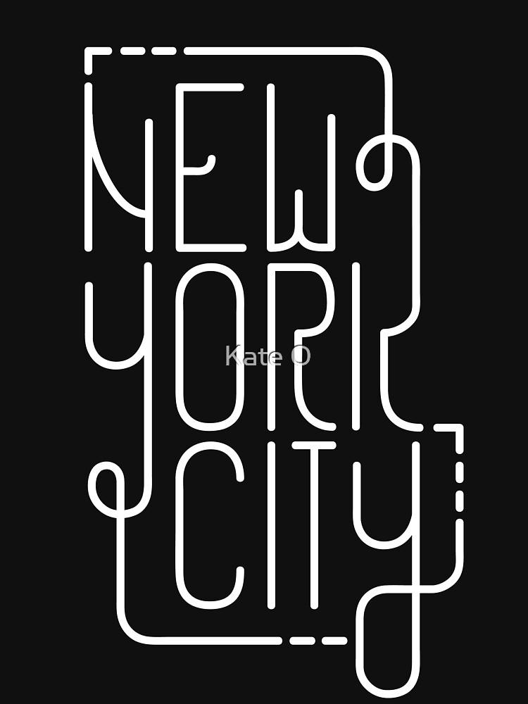 New York City de kateouwenga