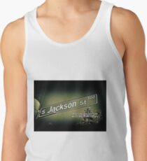 Jackson Street, Central District, Seattle, WA Street Sign Photography by MWP Tank Top