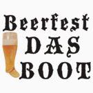 German Beerfest Das Boot by HolidayT-Shirts