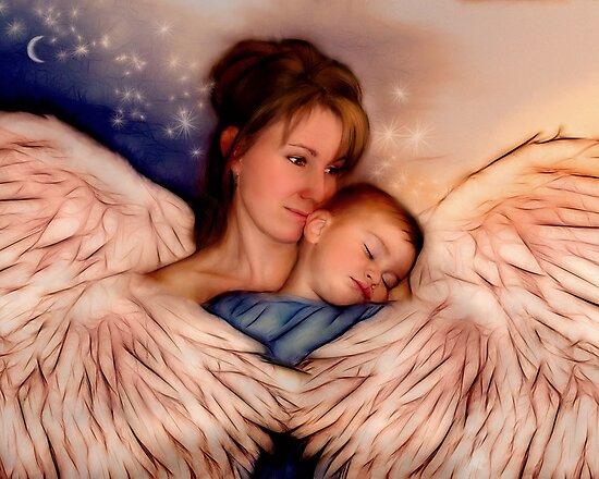 Angel Mother by Francine Dufour Jones