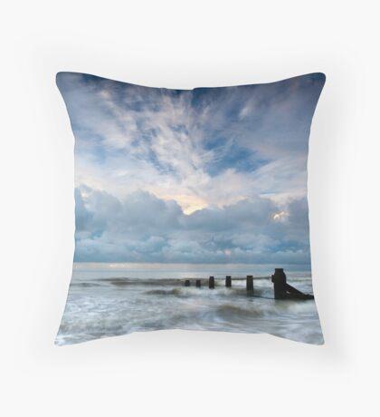 Dramatic Daybreak Throw Pillow