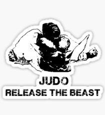 JUDO RELEASE THE BEAST Sticker