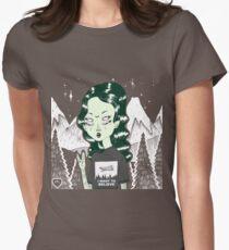 Zelina Tailliertes T-Shirt für Frauen
