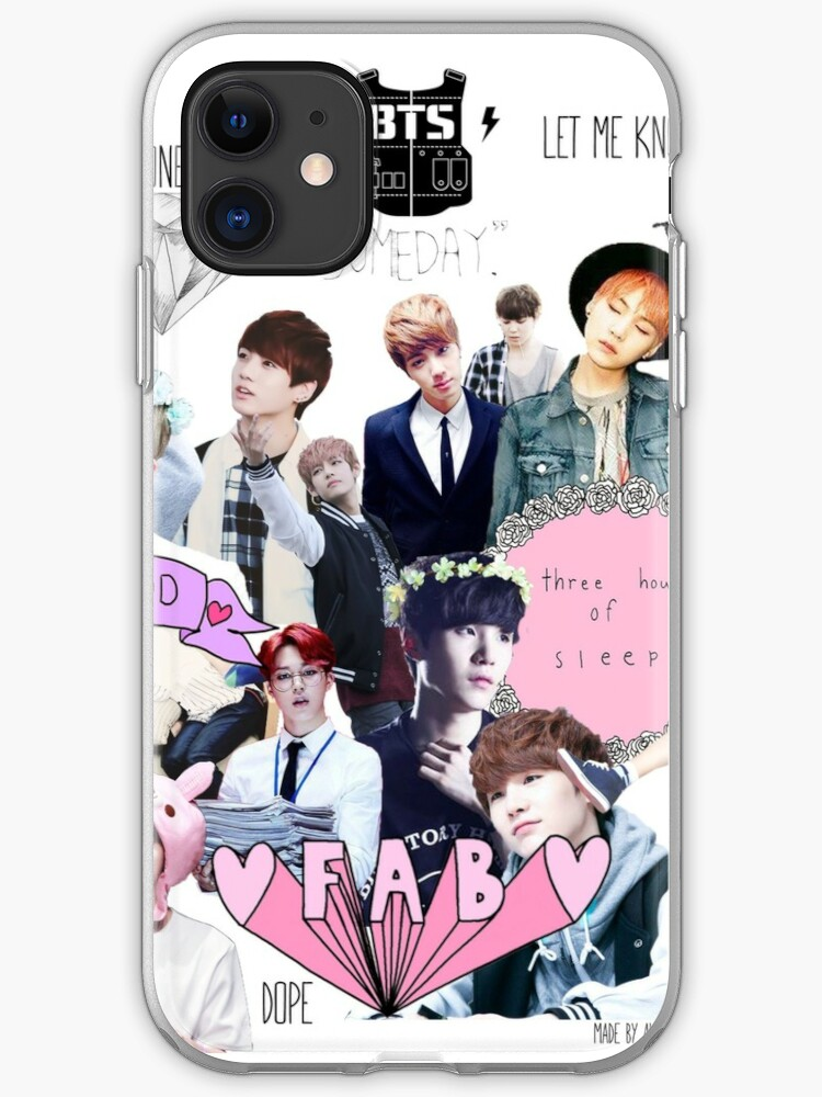 BTS Bangtan Boys Sonyeondan tumblr iphone case