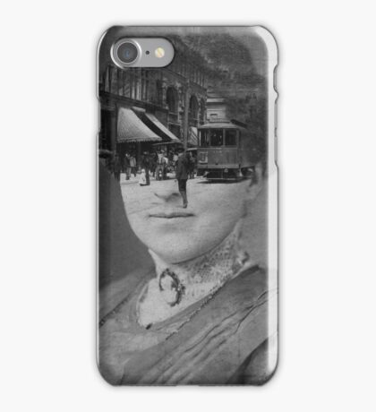 Black & White Collection -- Faded iPhone Case/Skin