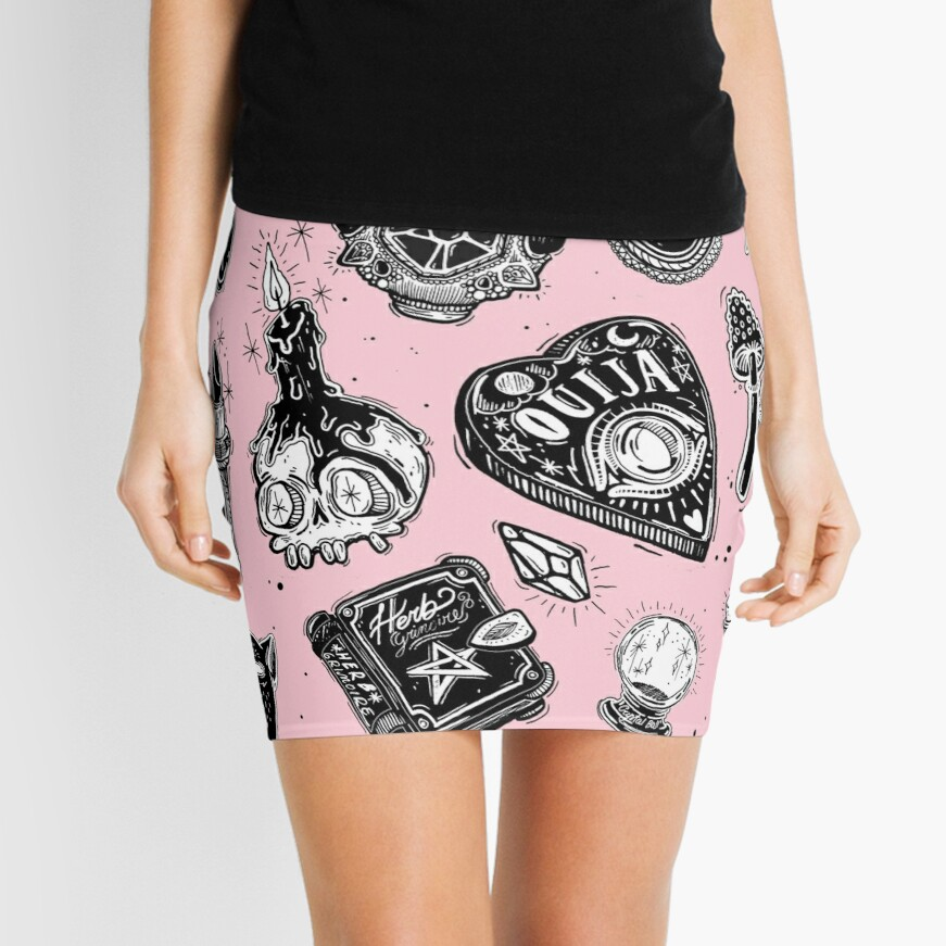 Witchy  Mini Skirt